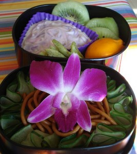 orchidée comestible